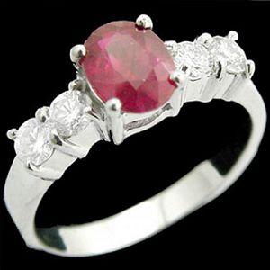 永恆-紅寶石戒指