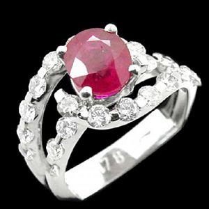 魅力四射-紅寶石戒指