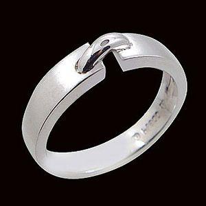 凝望-白金戒指