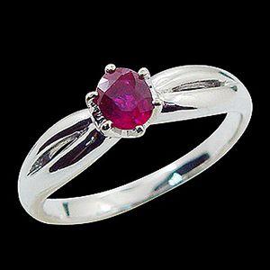 紅采光輝-紅寶石戒指
