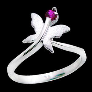 飛翔-紅寶石戒指