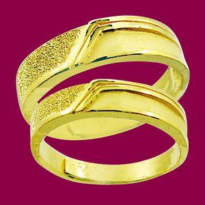 愛之永恆-黃金結婚對戒