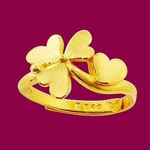 幸運飛吻-黃金精品