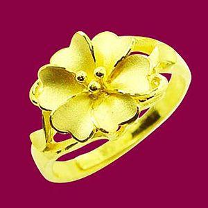 心花盛開-黃金戒指