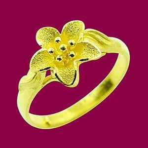 花的呢喃-黃金戒指