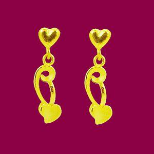 愛上甜心-黃金耳環