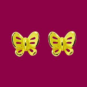 福氣滿天-黃金耳環