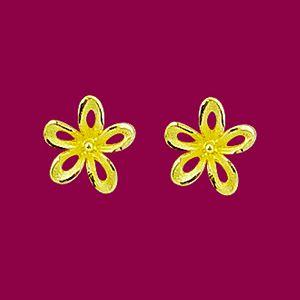 花宴-黃金耳環