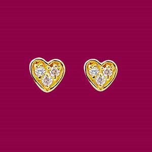 愛閃亮-黃金耳環
