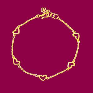 無限愛意-黃金手鍊