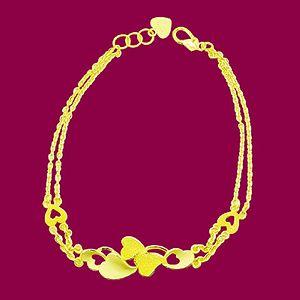 愛的浪花-黃金手鍊
