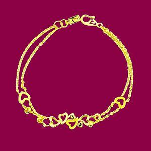 滿心喜樂-黃金手鍊