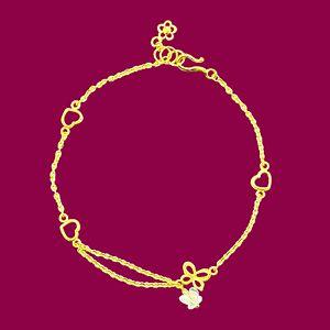 晶瑩幸福-黃金手鍊