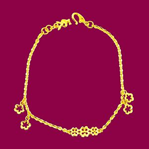 花之園地-黃金手鍊