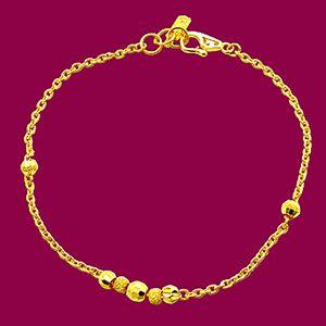 圓滿-黃金手鍊
