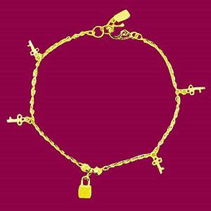 鎖上愛情-黃金手鍊