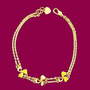 發現幸福-黃金手鍊