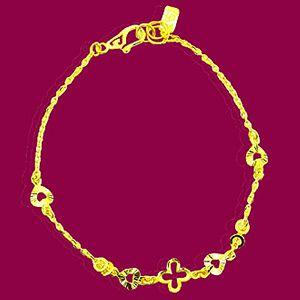 幸運愛情-黃金手鍊