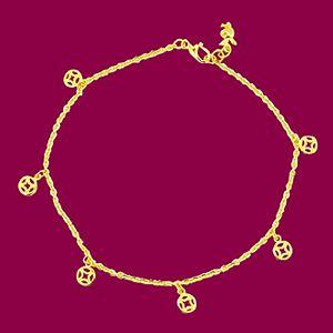 富足-黃金腳鍊
