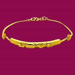 表白-黃金手鍊