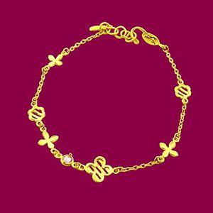 柔情真愛-黃金手鍊