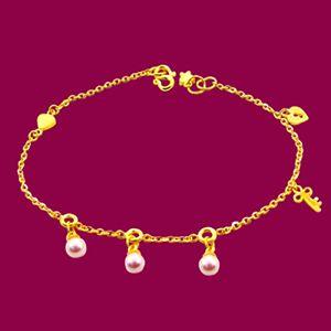 情瑣-黃金手鍊
