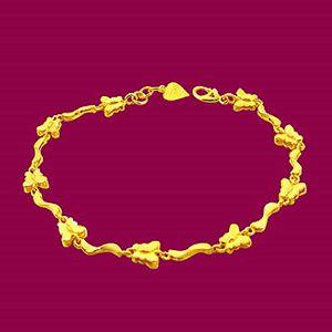 飛福-黃金手鍊