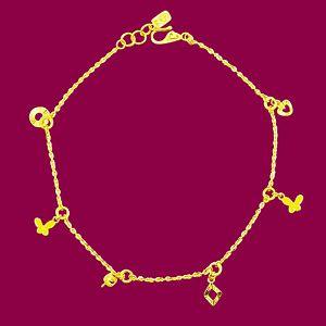 絢麗-黃金腳鍊