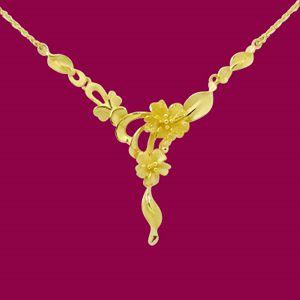 美麗花開-黃金小套鍊