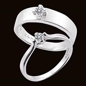 愛和承諾-結婚對戒