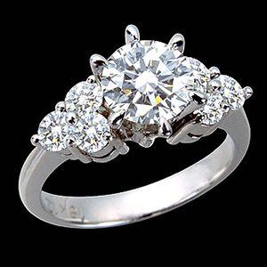 卿本佳人-GIA鑽石
