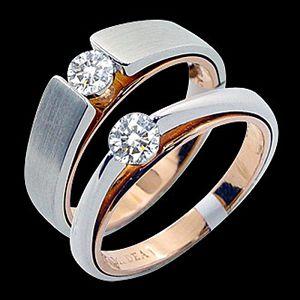 玫瑰人生-結婚對戒
