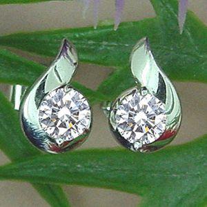 愛之夢-鑽石耳環