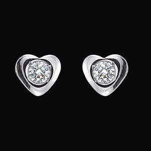 真愛-鑽石耳環
