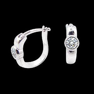 個性美人-鑽石耳環