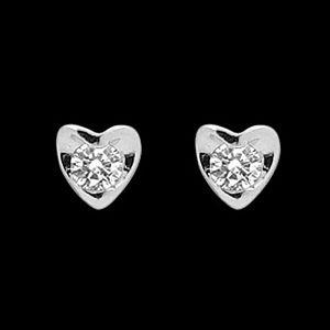 吐心意-鑽石耳環