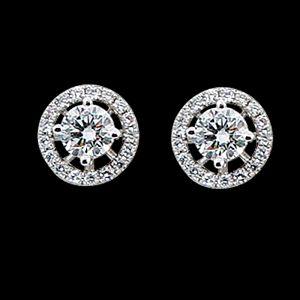 尋夢園-鑽石耳環