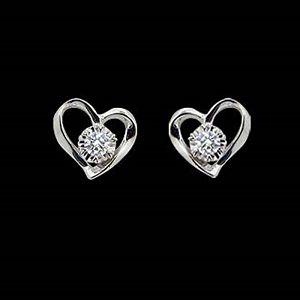 摯愛-鑽石耳環