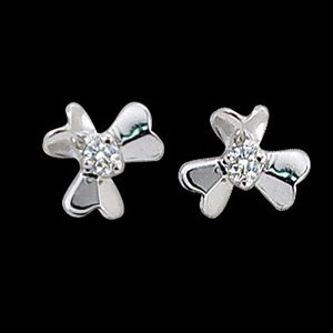 幸運-鑽石耳環