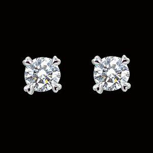 甜蜜的心情-鑽石耳環