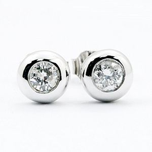 圓夢-鑽石耳環