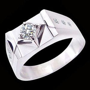 結婚記念戒-鑽石精品