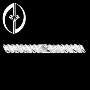 非凡-鑽石領夾