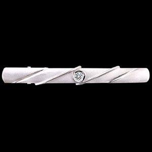 典範-鑽石領夾