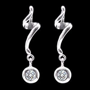 圓舞曲-鑽石耳環