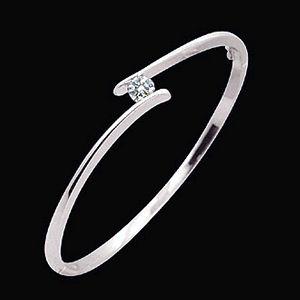浪漫曲-鑽石手環