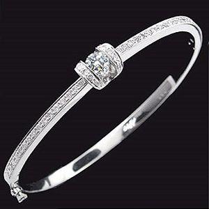 擁抱真愛-鑽石手環