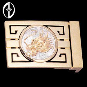 萬壽龍-鑽石皮帶扣