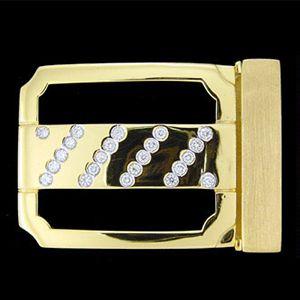 時尚-鑽石皮帶扣