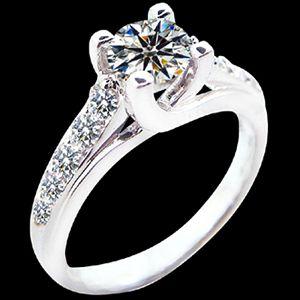 情深似海-GIA鑽石